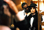 Фото #16. Photographer: Peter Lindbergh, America, Puff Daddy & Penelope Cruz, Jun 2005