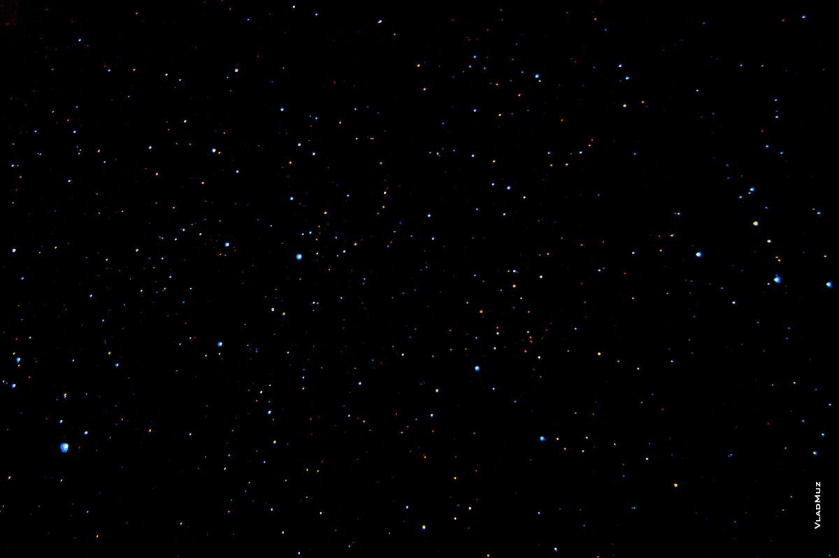 Чистое ночное севастопольское небо